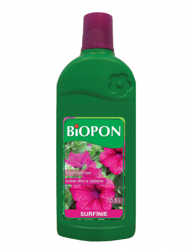 Hnojivo na kvety Surfínia 500 ml BIOPON